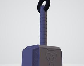 3D Thor Mjolnir Hammer