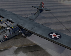 3D model Consolidated PBY-5 Catalina