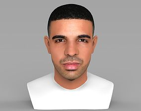 rnb Drake bust ready for full color 3D printing