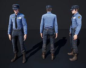 Policeman 1 3D model