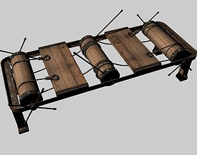 The Rack Torture Device 3D model