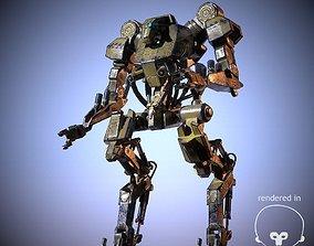 3D model Industrial Mech