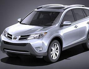Toyota RAV4 2015 VRAY 3D model