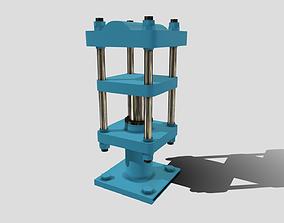 3D asset Machine - Hydraulic Rubber Press