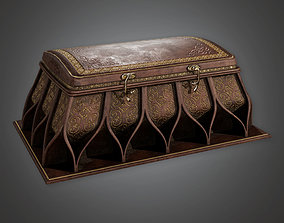 TRS - Ornate Ancient Treasure Chest 01 - PBR realtime 2