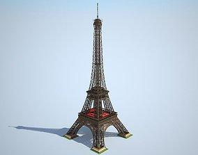 Eiffel Tower High detailed 3D