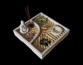 Miniature Zen Garden 3D