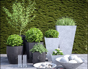 3D model planter group