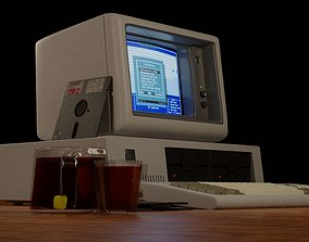 IBM 5150 Vintage Personal Computer 3D