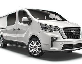3D model Nissan NV 300 Combi LWB 2021