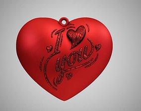 Love Necklace 3D print model