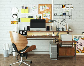 3D model Workplace WP1