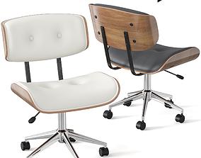 3D model Dax Bentwood Office Chair