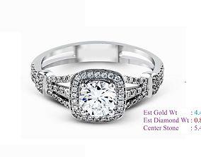 3D printable model Diamond Ring wedding