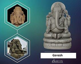 Ganesha 3D sculpture