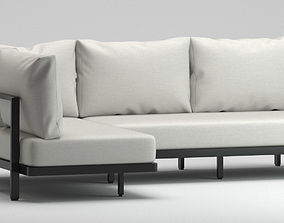 3D model Royal Botania outdoor sofa 1