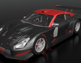 3D model Nissan GTR Nismo Track