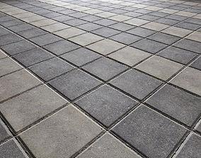 Paving slabs Floor 008 3D model