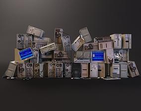 Computer dump 3D asset