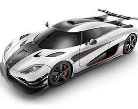 Koenigsegg-One-Lithophane-Lightbox 3D printable model