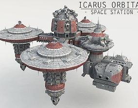 3D Icarus Orbital - Space Station