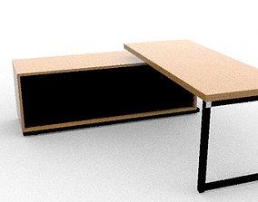 3D asset office desk