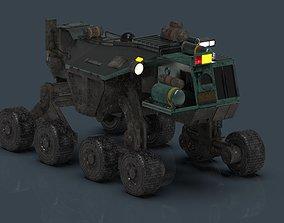 Jorden Tractor 3D model
