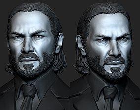 John Wick 3D print model