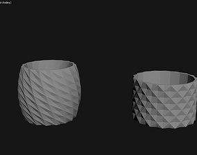 3D Printed Planter Plant Pot Plant Vase 023