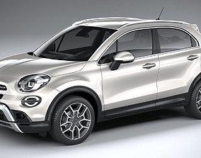 Fiat 500X 2019 3D model