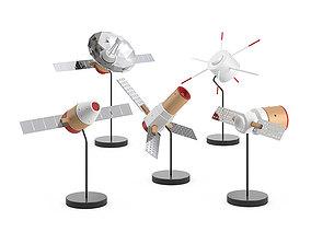 3D Papafoxtrot Space Fleet figures