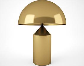 3D model Gold Lamp