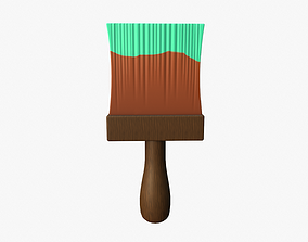 3D model Cartoon Paintbrush