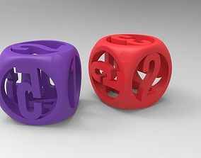 Dices 3D printable model