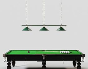 Billiards Table sports 3D model