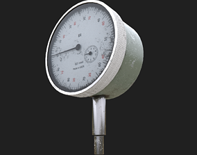 The measuring instrument ich-10 ussr 3D model
