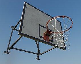 3D model Old Basketball Backboard