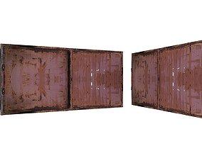 Metal Door 01 04 3D asset