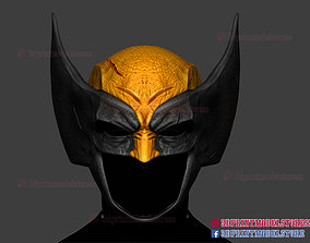 Wolverine Helmet - Marvel Cosplay 3D printable model