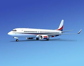 Boeing 737-800 Corporate 6 3D model