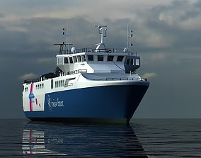 ship liner 3D model