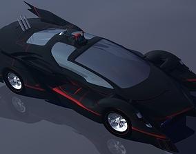 3D printable model Batmobile Prototype 2014