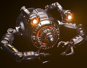 3D model Sci-Fi Drone Advanced