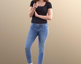 3D model Juliette 10799 - Standing Casual Woman