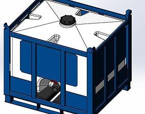 3D Assmans-ACO Container - Pallet Tank - PTC-125
