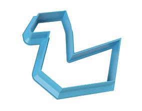 COOKIE CUTTER SWAN 3D printable model