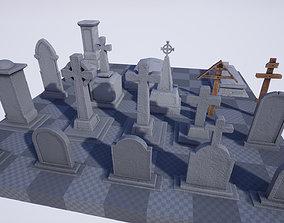 3D model Gravestones