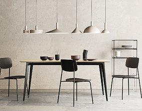Dining Room Interior 317 3D
