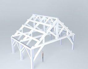 3D model Madoc bandshell