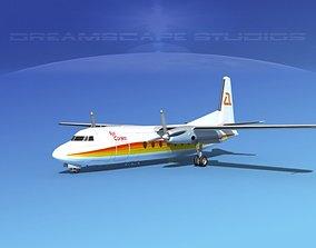 3D model Fairchild FH-27 Air Cortez